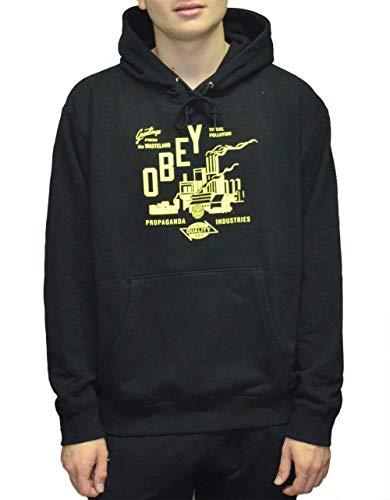 OBEY Wasteland Box Fit – zwart – trui met capuchon voor heren