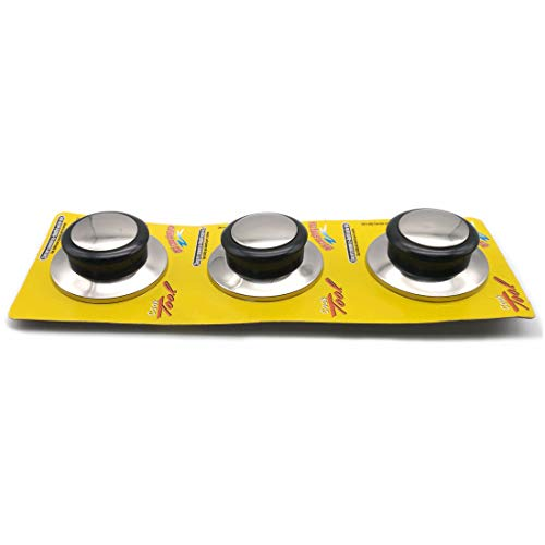 "Mejor LinaLife2pcs 1.6"" Cookware Pot Pan Lid Replacement Hand Grip Cover Knob Handle Kitchen Replacement Cookware Pot Bakelite Grip Lid Cover Knob crítica 2020"