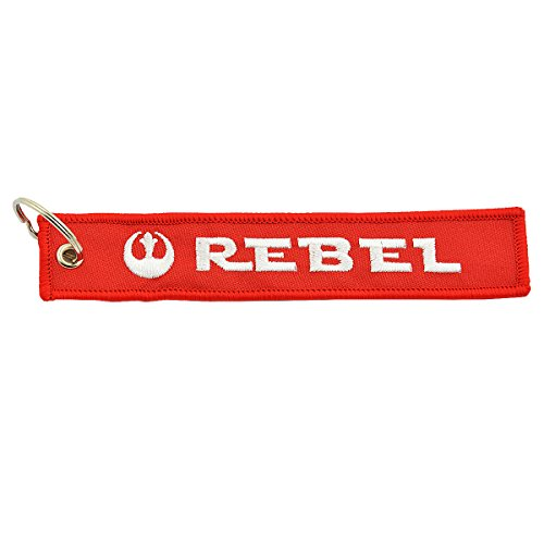 """Apex Imports Rebel Alliance Remove Before Flight Style Key Chain 5.5"""" x 1"""" Motorcycle ATV Car Truck Keychain"""