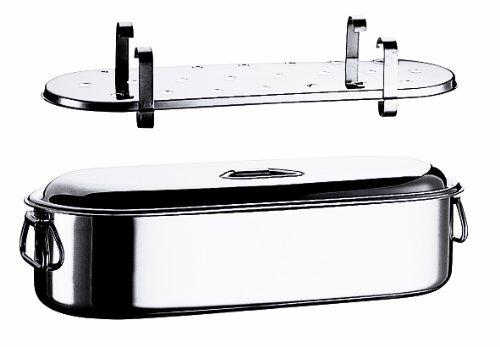 MEPRA Pescera Completa con Coperchio, 45 cm, Acciaio Inossidabile 18/10