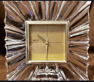 Mikasa Crystal Monarch Clock 4' x 4'