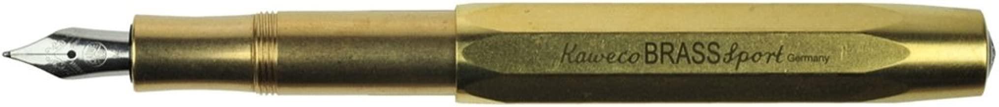 Kaweco Sport Fountain Pen Brass Nib: M