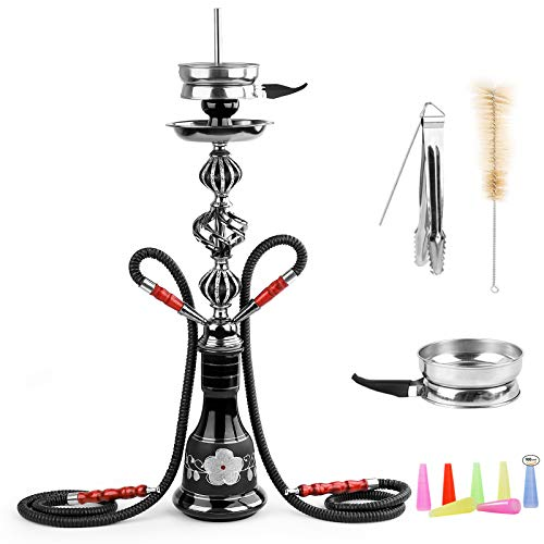 Hookah Set with Everything 2 Hose - 20
