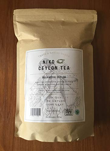 Loose Leaf Black Tea - Delightful Ceylon(500g Catering Pack) * Great Taste Awards Winner 2019