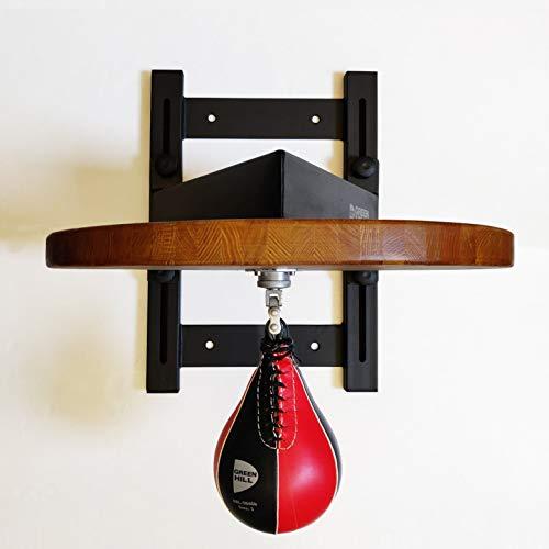 GREEN HILL Piattaforma Professionale Regolabile per Pera Veloce Boxe, Supporto peretta Pugilato, Staffa Speed Ball Boxing (Piattaforma con PERETTA)