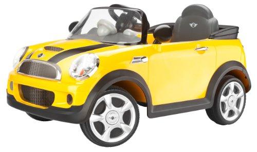 Kid Trax Mini Cooper 6V Ride-On Car, Yellow