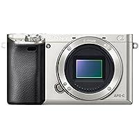 Sony Alpha a6000 24.3MP Wi-Fi Digital SLR Camera Body (Silver)
