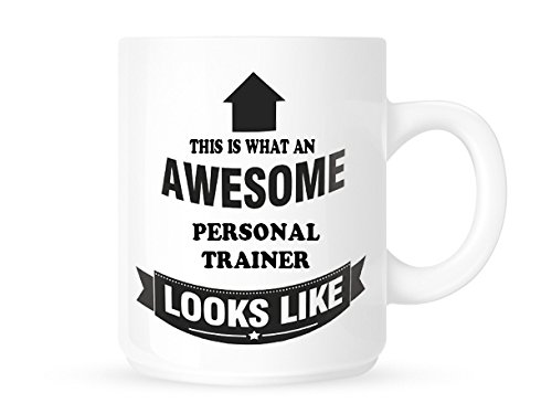 This Is What An Awesome Personal Trainer Looks Like - Tea/Coffee Mug/Cup - Great Gift Idea