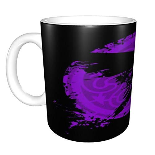 Taza grande de cerámica Vikings Ragnars Raven, taza de té grande para oficina y hogar, 330 ml, apta para lavavajillas y microondas, 1 unidad