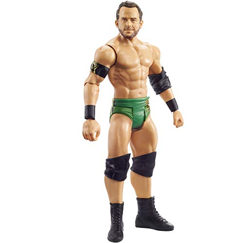 WWE Roderick Strong Basic Action Figures, Posable 6-in/15.24-cm Collectible for Ages 6 Years Old & Up