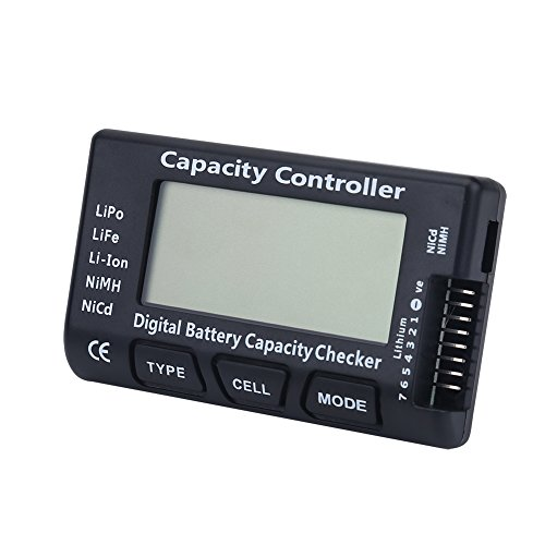 Amazing Deal SOONHUA Digital Battery Capacity Checker Voltage Tester Detector for LiPo Li-ion LiFe N...