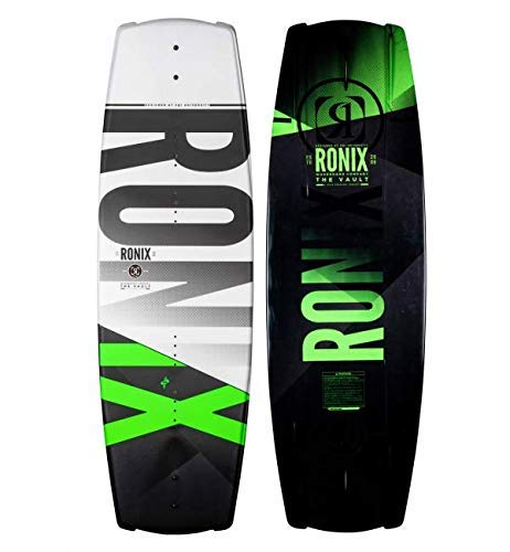 2020 Ronix Vault Boat Boards - White/Black/Green 139