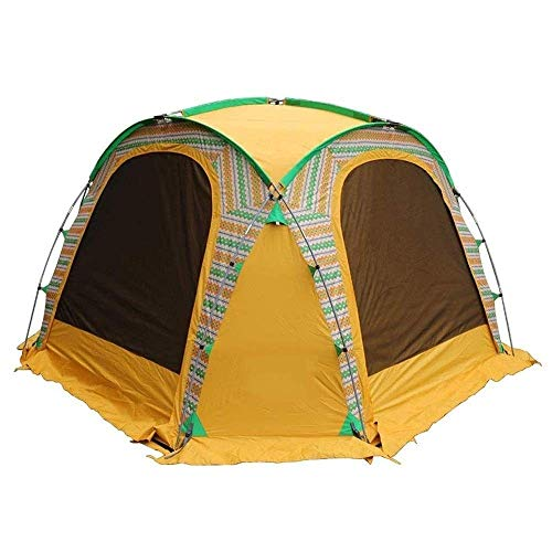 L-YINGZON Camping Tent Outdoor Camping Tent, Suitable for 4-6 People, Frame Dome, for Travel and Family Holidays, 350 * 350 * 230 / 190cm Outdoors