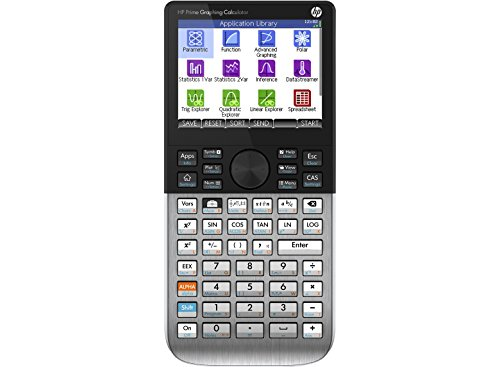 HP Prime Graphing Calculator schwarz 400MHz ARM9 TFT 32MB 256MB Standardmäßig 5 Minuten