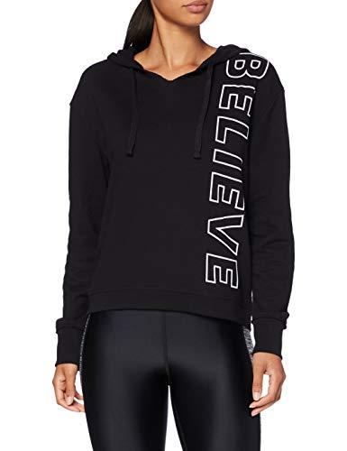 Activewear Hoodie Damen, Schwarz, 36 (Herstellergröße: Small)