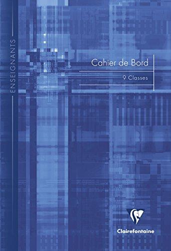 Clairefontaine Notebook Edge 3129C Class 9genähtes Cover, 21x 29,7cm 60Seiten, verschiedene Farben