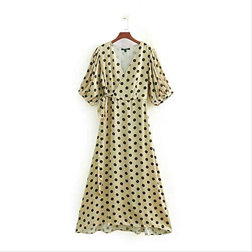 WFRTY - Golf-Kleider für Damen in Polka Dot, Größe M