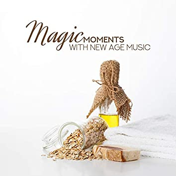 Magic Moments with New Age Music: Deep Ambient Music for Relaxation, Calm Nature Sounds, Birds & Water, Relaxing Melodies of Flute & Piano, Spa at Home, 15 Background Music for Wellness, Stress Relief, Music for Bath