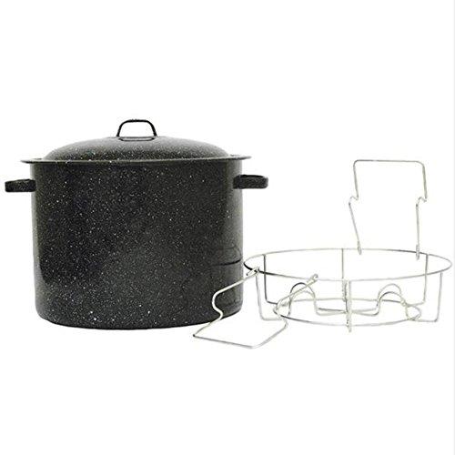Granite Ware 11.5 Qt Pint Jar Mini Canner & Rack