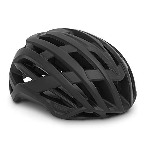 Kask Valegro Erwachsene Fahrradhelm Unisex Black Mat, Medium