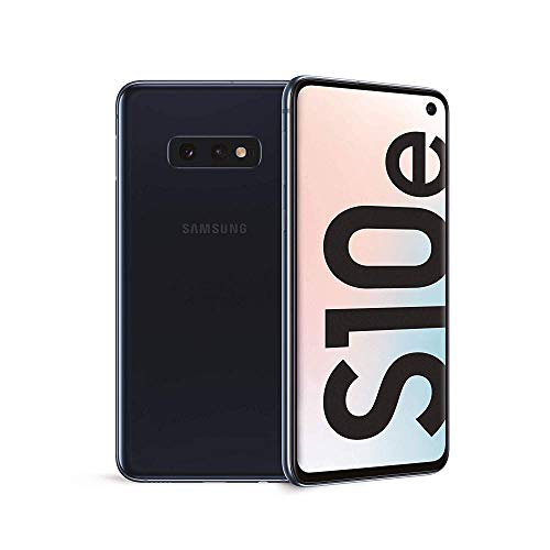"Samsung Galaxy S10e Smartphone, Display 5.8"", 128 GB Espandibili, Dual SIM, Black [Versione Italiana]"