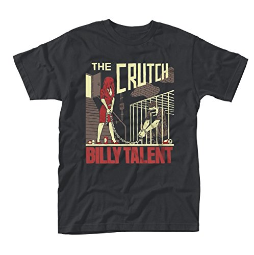 Plastic Head Herren Billy Talent The Crutch T-Shirt, Schwarz (Black), XL