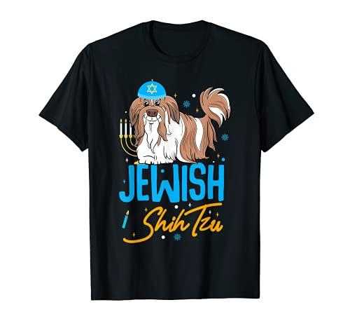 Hanukkah para el perro Shih Tzu judío Camiseta