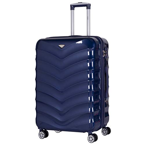 Flight Knight 8 Wheel TSA Lock Hardcase for easyJet, British Airways, Ryanair Approved Luggage Hold & Carry On Travel Bags