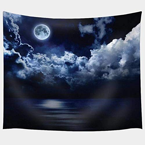 N / A Solar System Tapestry Printing Wall Hanging Tapestry Living Room Bedroom Decoration Tapestry A12 150x130cm