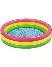 Intex Opblaasbaar zwembad met 3 ringen