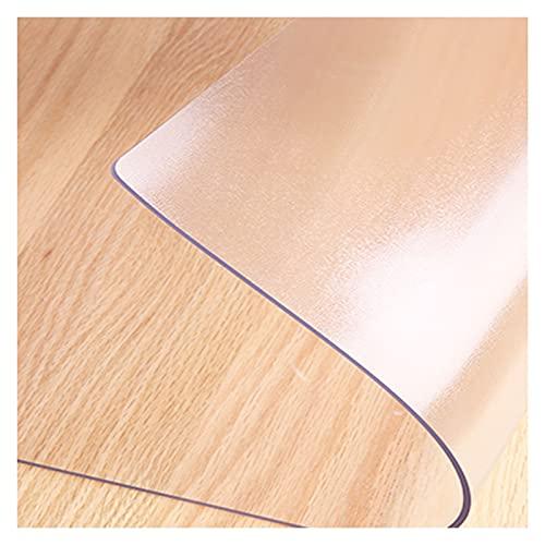 ZWYSL Mantel Transparente Almohadilla de Protección Escritorio Resistente a Rayones Resistencia a Altas Temperaturas Fácil Limpiar Personalizable (Color : Clear-1.5mm, Size : 70x180cm)