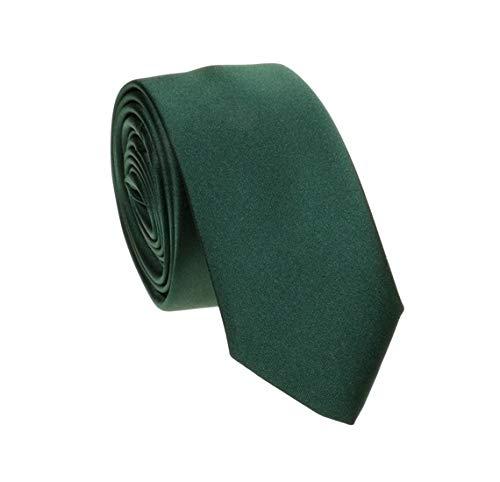Gravata Slim Fit Sport (Verde Escuro)