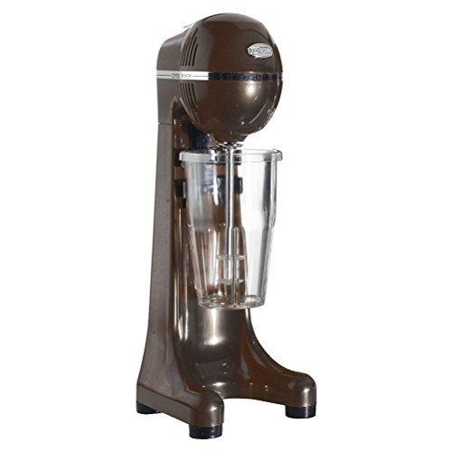 Johny Frappe eléctrica–400W 2velocidad comercial bebida mezclador–eléctrica leche Shake eléctrica/marrón/AK/2–2t-eco-br/fabricado en Grecia