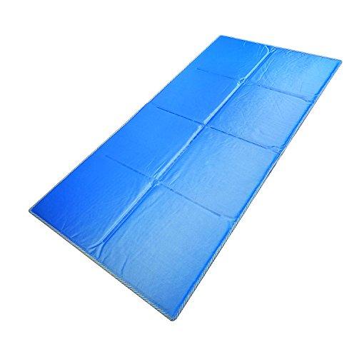 GENERAL ARMOR Gel kühlende Matratzenauflage 70×140cm,Kühlmatte/Kühlkissen/Kühlpad zur Regulierung der Körpertemperatur,Selbstkühlendes Kühlkissen für Hunde Katzen Haustiere