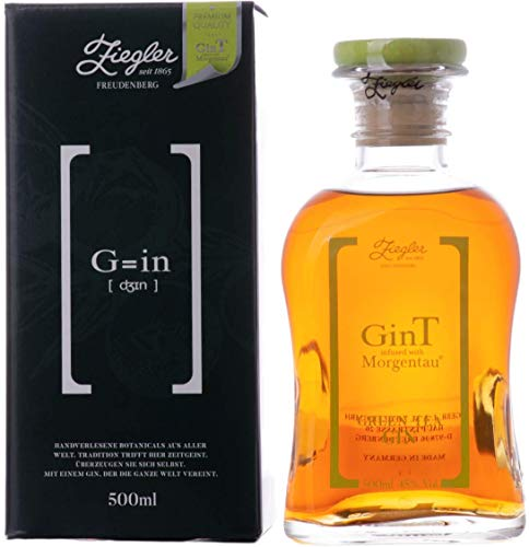 Ziegler GinT infused with Morgentau GREEN TEA Gin, 500 ml