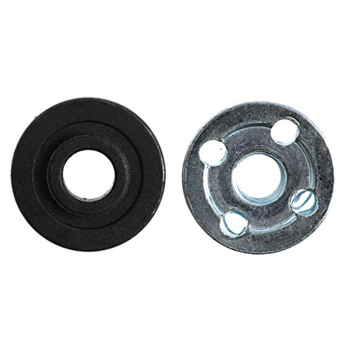 Ontracker 2 pieces angle grinder replacement part inside outside flange set fits Makita 9523