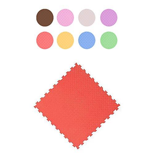 LXZFJW Piastrelle ad incastro in schiuma per bambini, puzzle in schiuma per bambini, impermeabili, 30 × 30 × 1 cm, 24 pezzi