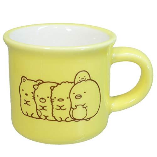 すみっコぐらし[マグカップ]ミニ ミニマグ/イエロー サンエックス