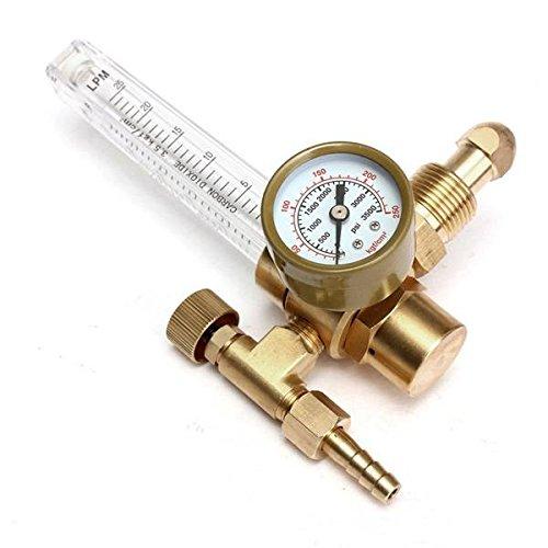 PhilMat Druckminderer Mig Tig Durchflussmesser Steuerventil Regler fr Manometer Schweißen Gas CO2 Argon