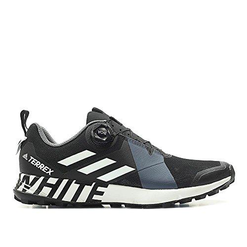 adidas Men White Mountaineering Terrex Two Boa Black Footwear White core Black Size 9.0 US