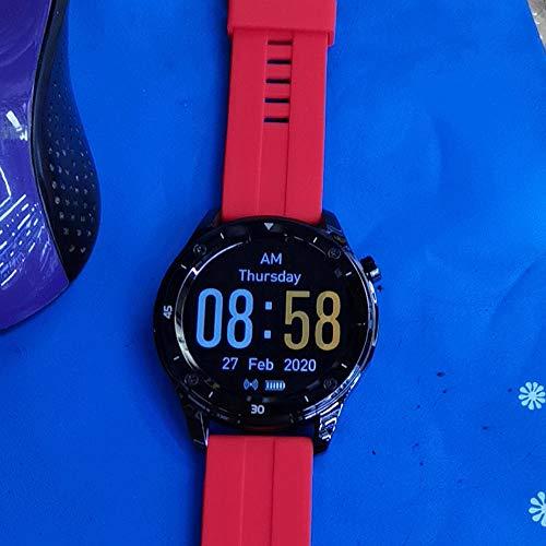 Yumanluo Pulsera Inteligente de Actividad,Pulsera GPS de Alta definición, Reloj-Rojo de la presión Arterial del Ritmo cardíaco de la Pista,Podómetro Monitores de Actividad Impermeable