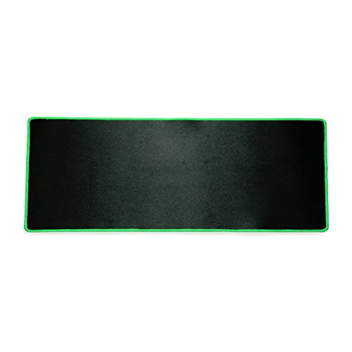 XFAY Gaming Mousepad/XFAYMouse Mat/muismat, anti-slip rubberen basis Gaming Mice/Mouse Pads - Zwart +groen