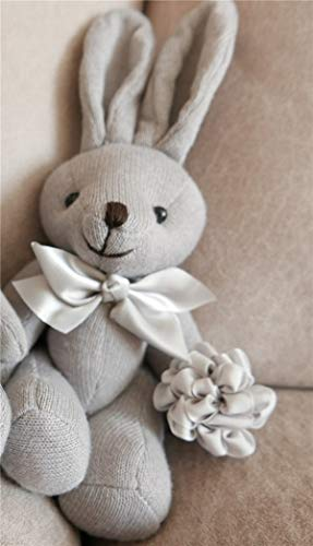 ZHAOMIAO Bebé Juega Juguetes de Peluche Suave Lindo Oso Conejo pacificar muñeca sostener títeres Juguetes 22 cm