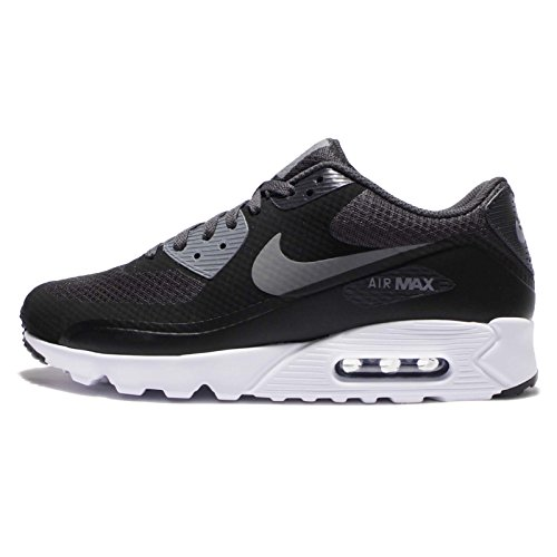 Nike Herren Air Max 90 Ultra Essential Sneakers, Schwarz (Black/Cool Grey-Anthracite-White), 40.5 EU