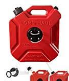 JONAS C 1.3 Gallon Gas Tank 5L Backup Gas Can Fits for Motorcycle SUV ATV Most Cars