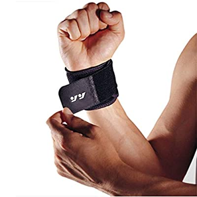 Wrist Brace for Ganglion Cyst, Arthritis, Carpal Tunnel, Breathable Sport/Fitness Wrist Support, for Left and Right Hand Man and Woman(Black)