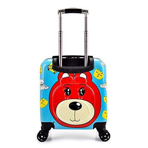 Mdsfe Kids Suitcase Children Trolley Suitcase wheeled for kids Rolling luggage suitcase girls Travel Luggage bags carry on trolley bag - 145.20'