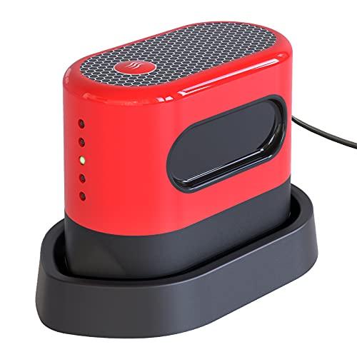 HOMESTEC Mini prensa de calor Máquina de prensa de calor para camisetas, zapatos, bolsas, sombreros, mini máquina de prensa de hierro fácil portátil para transferencia de calor