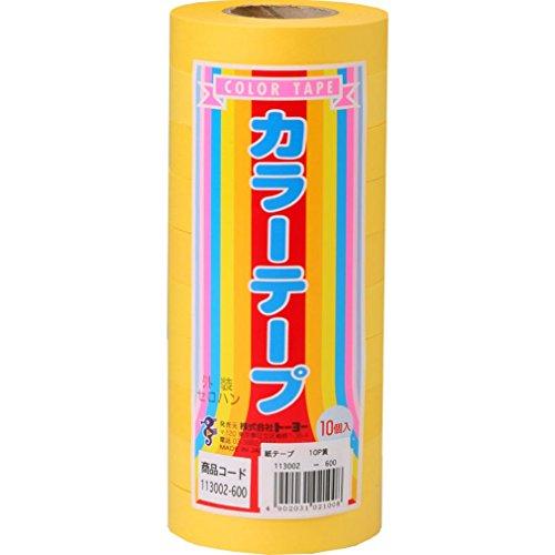 Couleur monochromatique bande 10P jaune (japon importation)