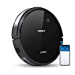 ECOVACS DEEBOT 601 Robot Vacuum Cleaner, S-Shaped Systematic Movement, Power Suction & 2 Specialized Cleaning Modes for Pet Hair, Thin Carpets & Hard Floors (Renewed)